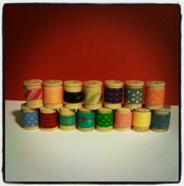 washi tape selection
