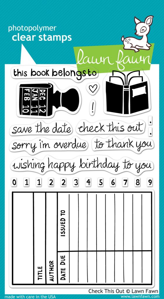 Check This Out library stamps