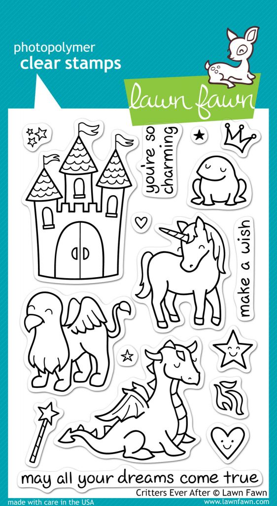 critters ever after stamp set