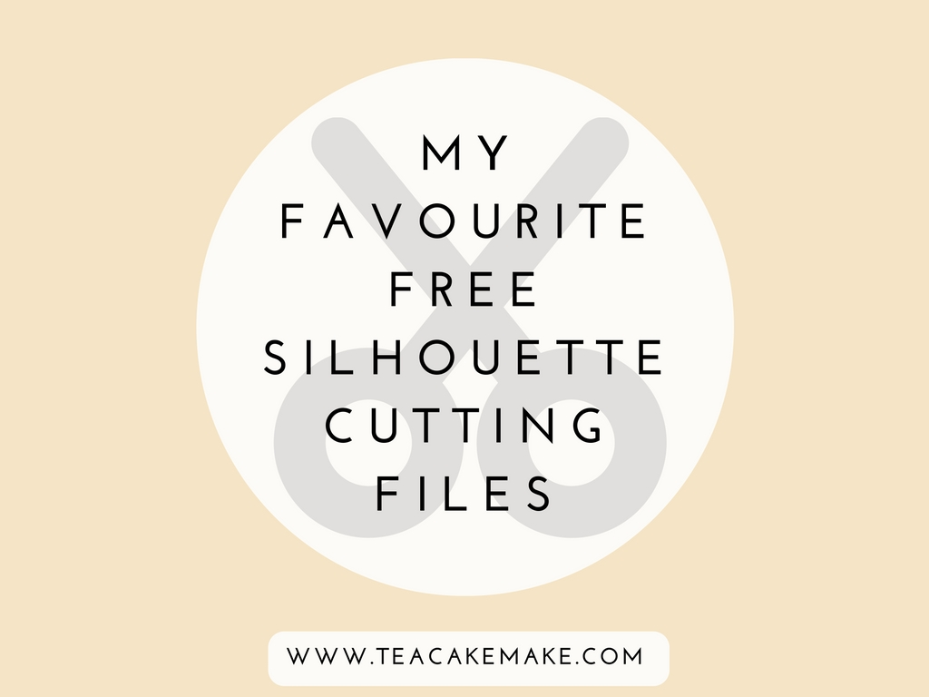 free silhouette cutting files