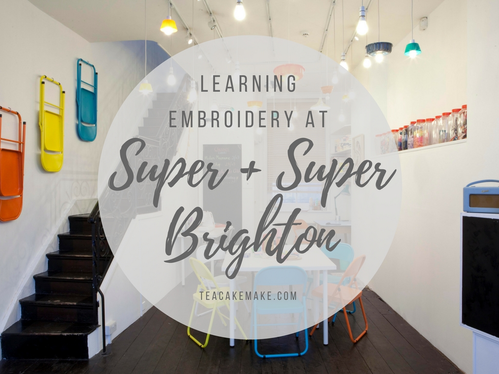 learning embroidery super super brighton