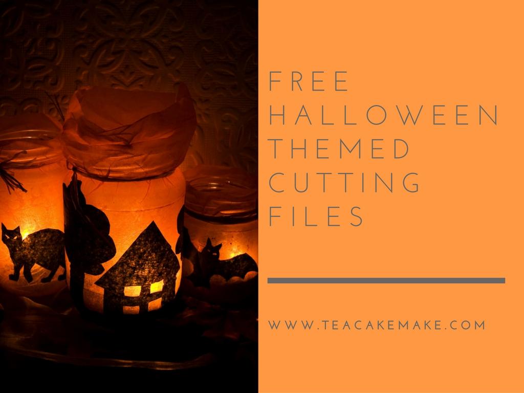 free halloween cutting files