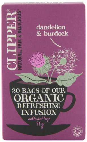 clipper dandelion burdock tea