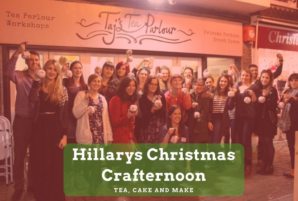 Hillarys Christmas Crafternoon Brighton