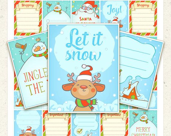 enjoy planning christmas printable
