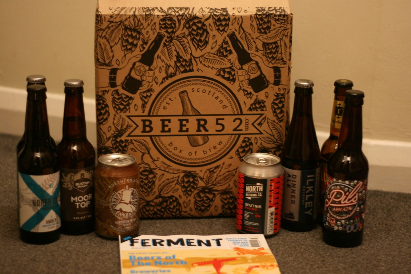 beer ale lager gift subscription