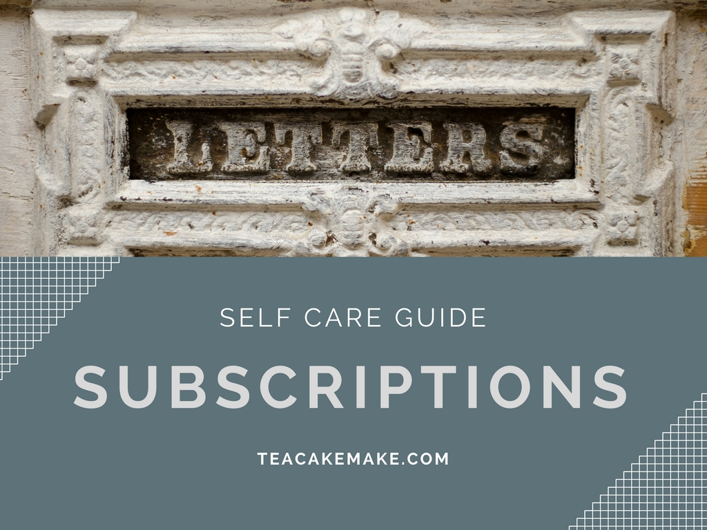 self care subscriptions guide