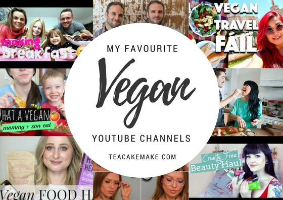 Favourite vegan YouTube channels