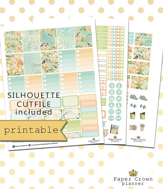 The Best Pretty Floral Themed Planner Printables