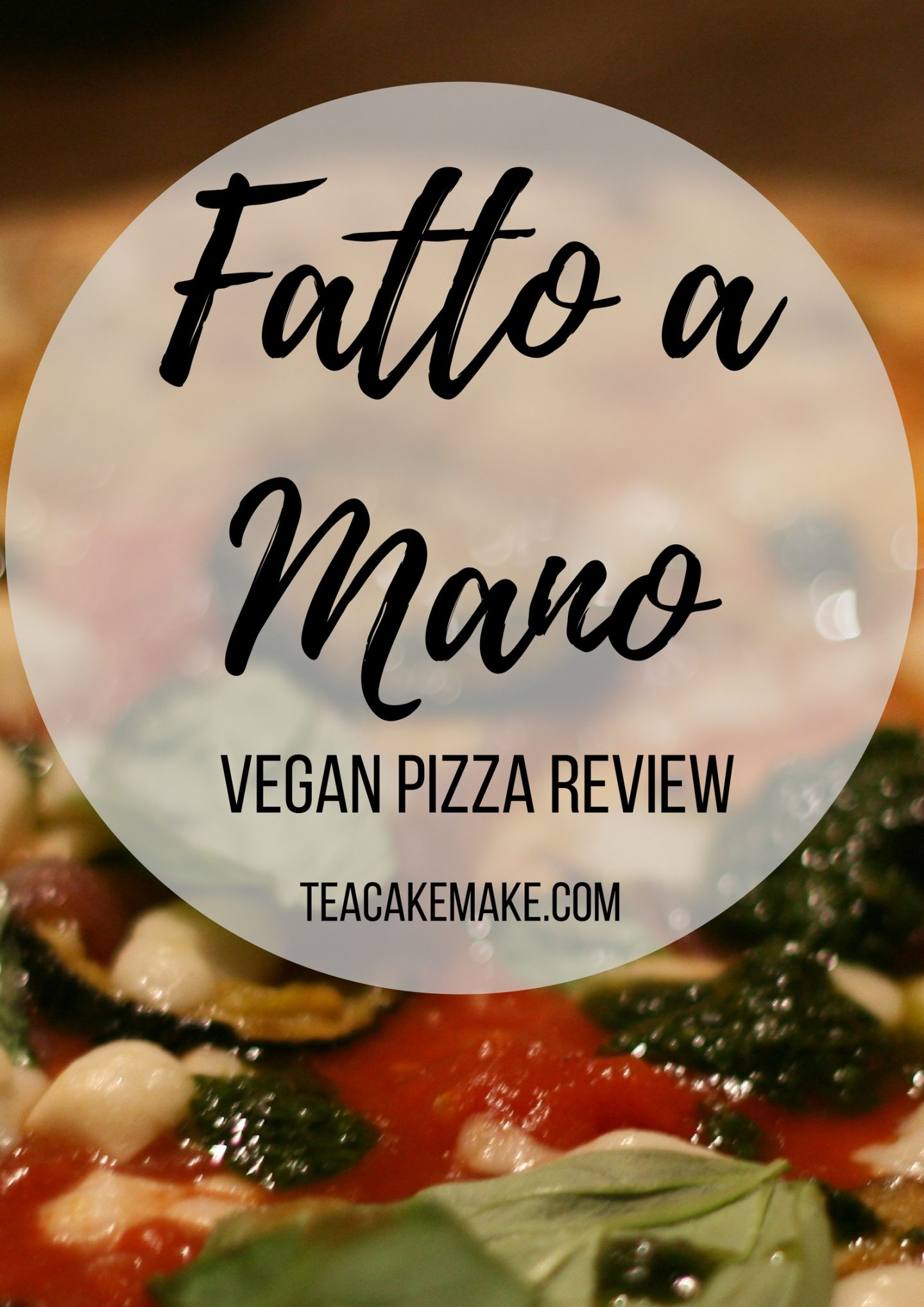 Fatto a Mano Brighton vegan pizza review