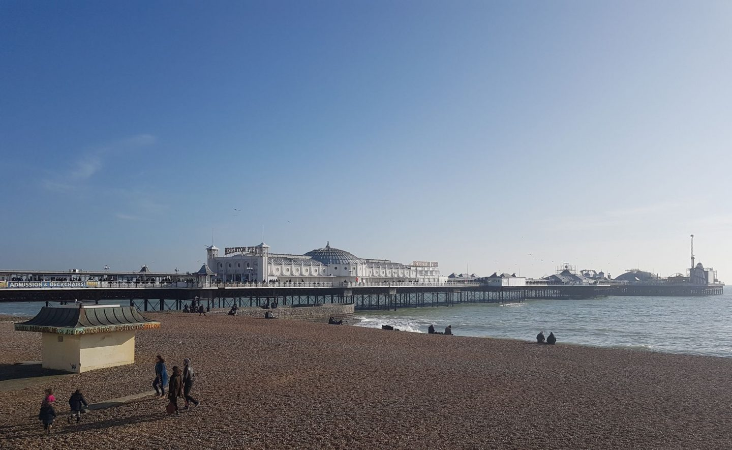 brighton palace pier beach