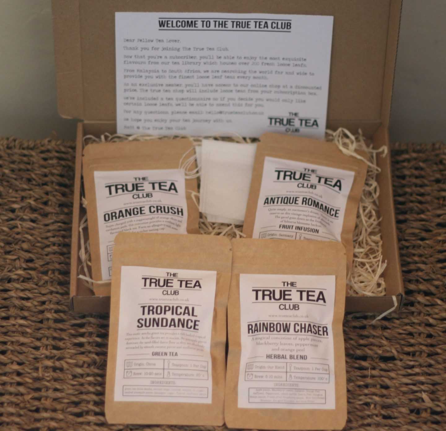 True Tea Club Subscription Box