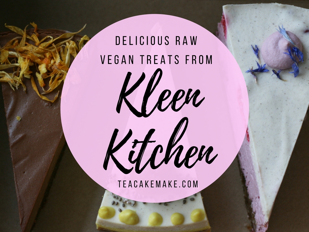 Raw Vegan Cakes and Treats From Kleen Kitchen