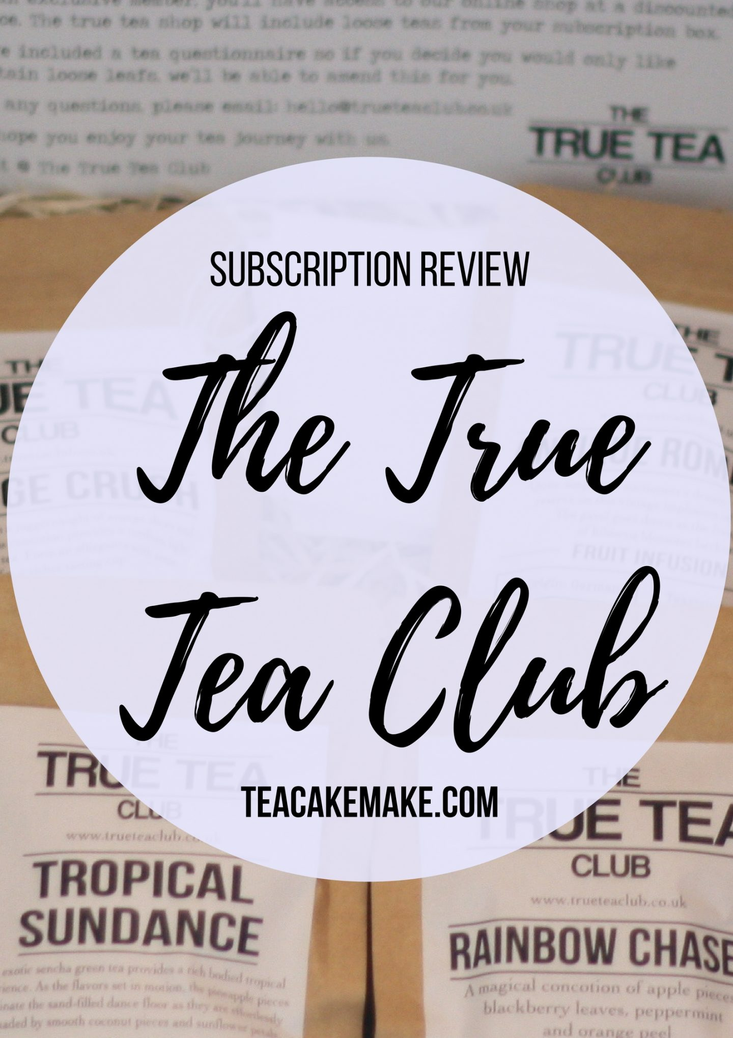 True Tea Club Subscription Review