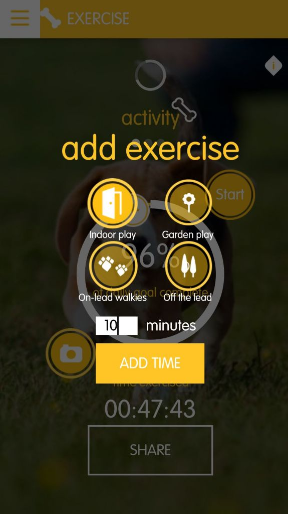 Tracking Your Dog's Fitness with Pedigree Tracks App 1