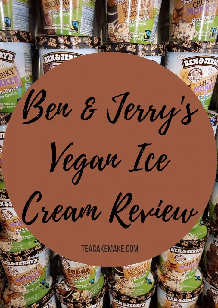 Ben & Jerry's Vegan non dairy Ice Cream review