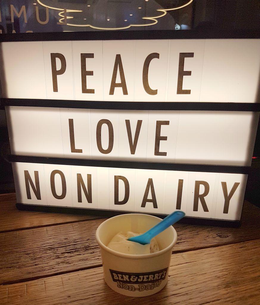 peace love non dairy ice cream