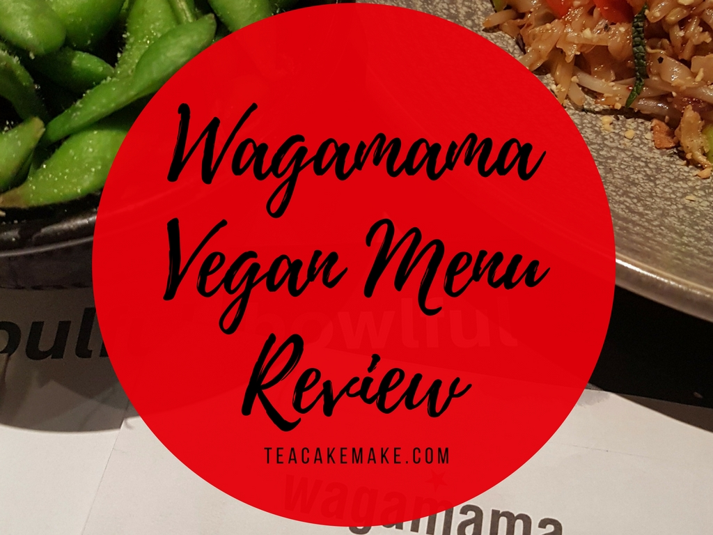 Wagamama Vegan Friendly Food Review