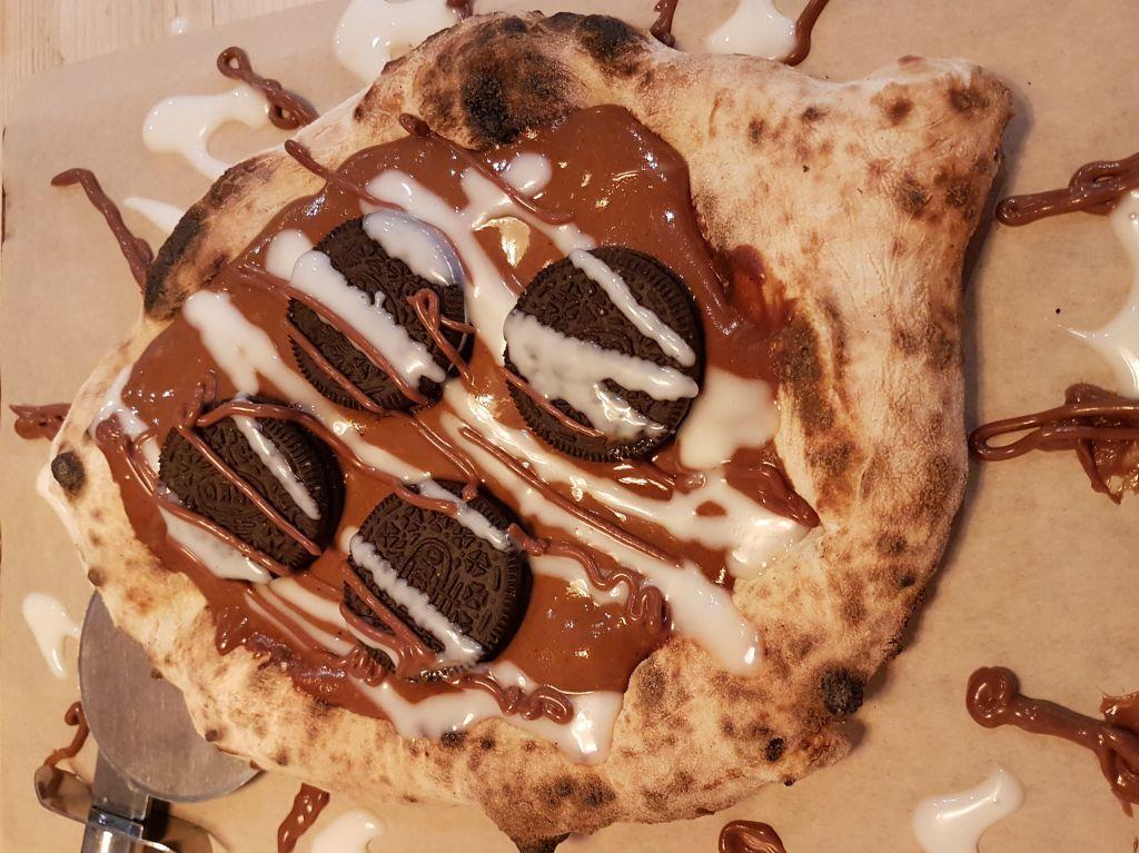 purezza vegan oreo dessert pizza