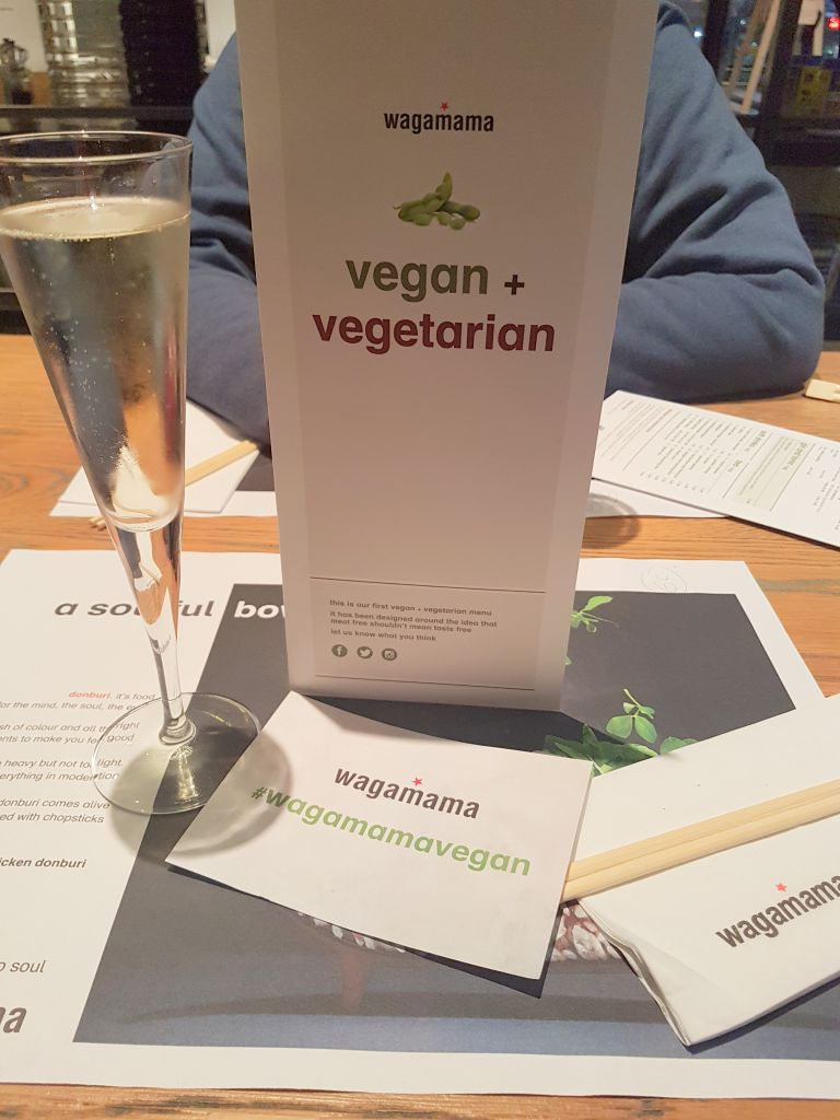 wagamama vegan vegetarian menu review