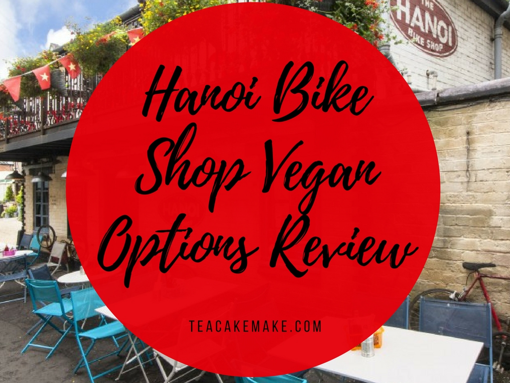 Hanoi Bike Shop Glasgow Vegan Options