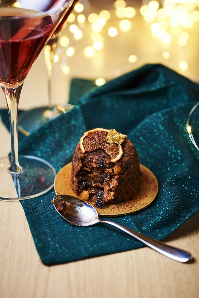 vegan xmas pudding