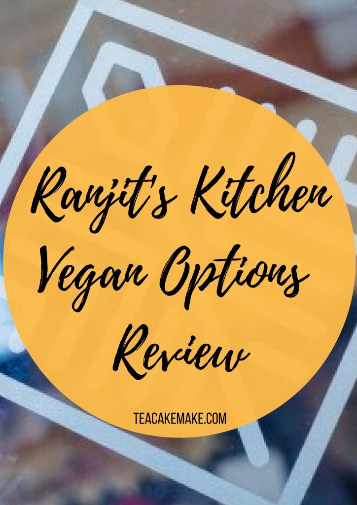 Ranjit's Kitchen Vegan Options Review