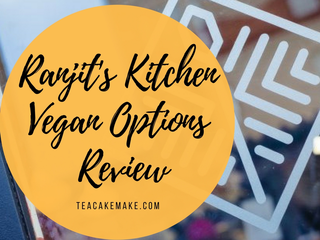 Ranjit's Kitchen Glasgow Vegan Review