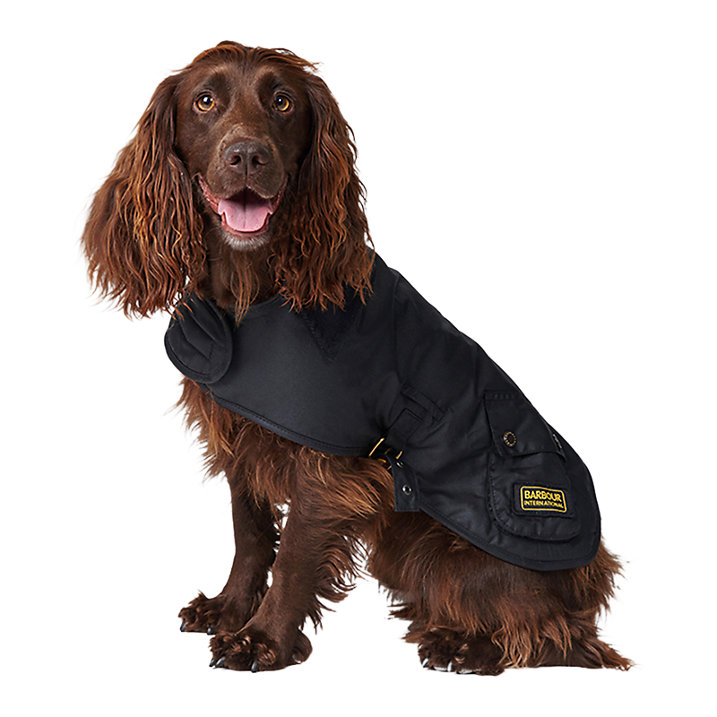 barbour dog coat