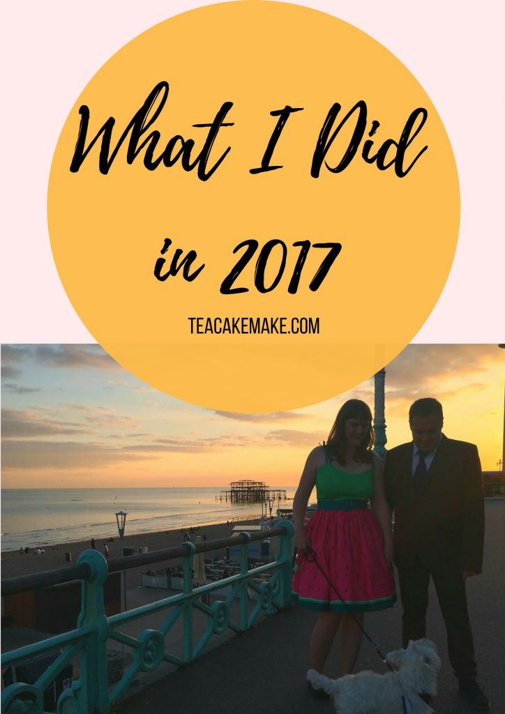 what i did in 2017