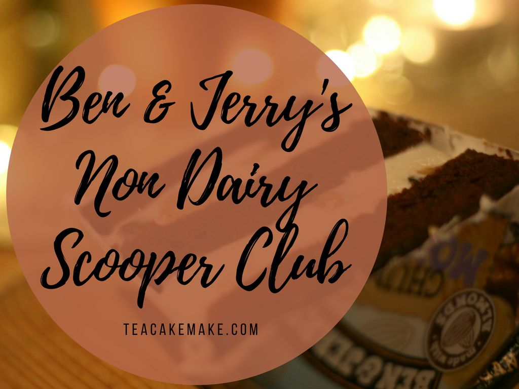 Ben & Jerry's Non Dairy Scooper Club