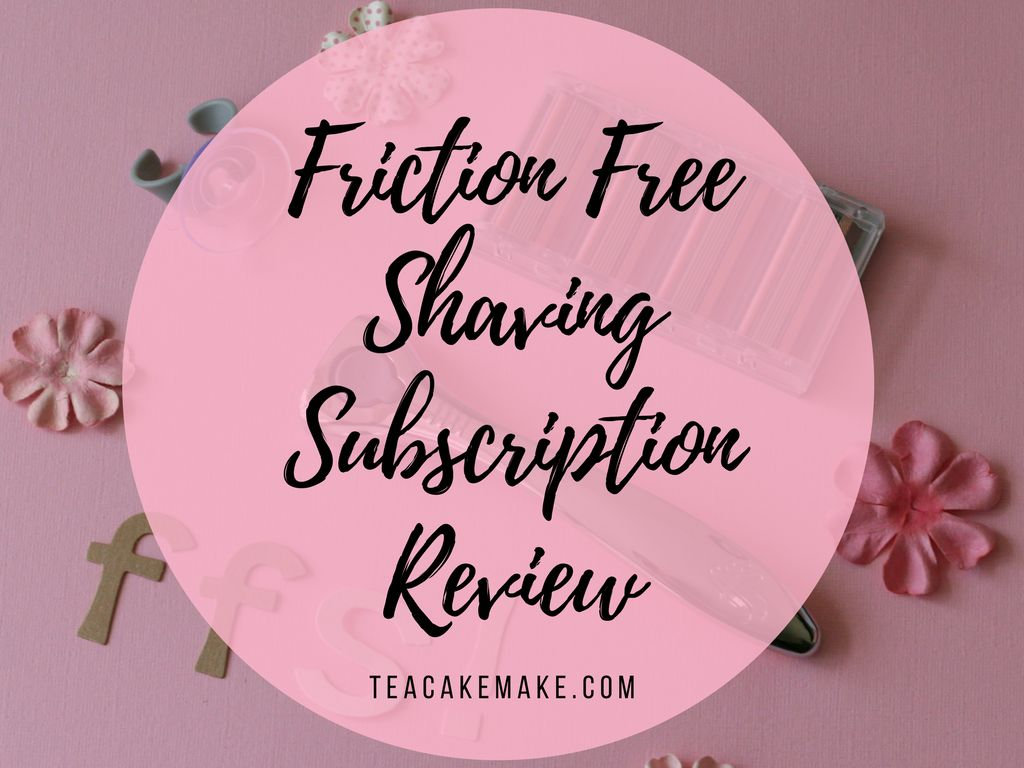 friction free shaving subscription review