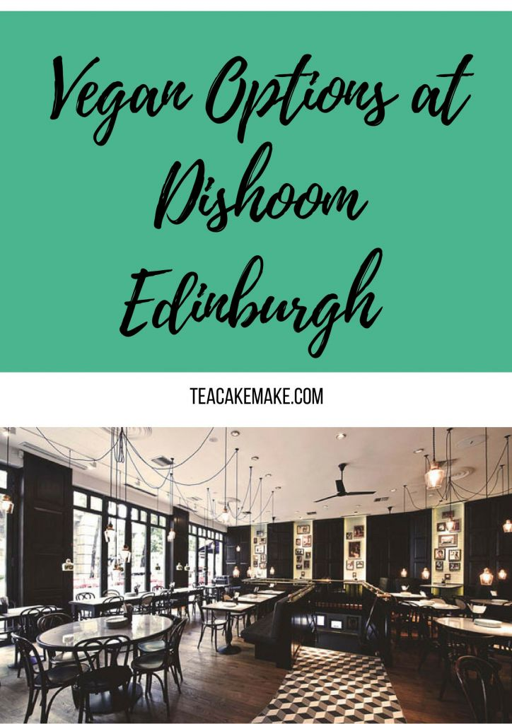 Vegan Options at Dishoom Edinburgh