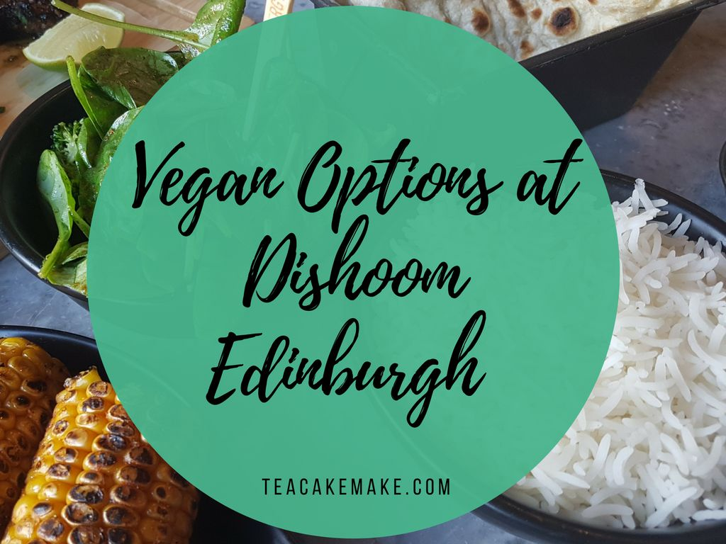 Vegan food Options at Dishoom Edinburgh