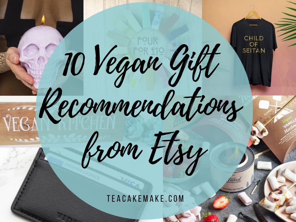 Ten Vegan Gift Recommendations from Etsy