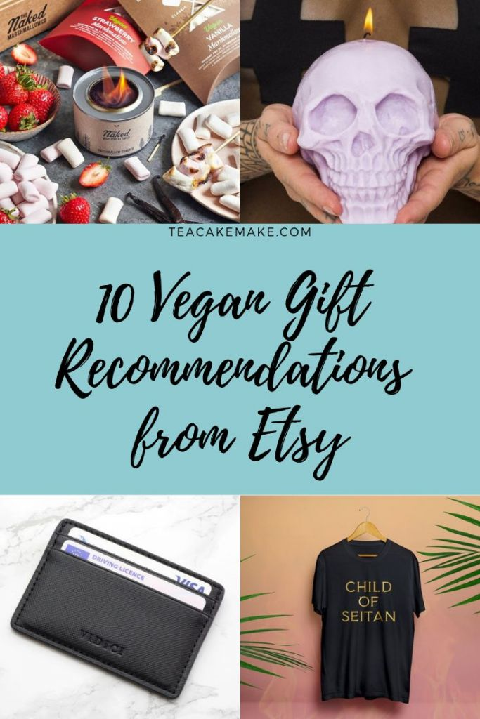 10 Vegan Gift Recommendations from Etsy