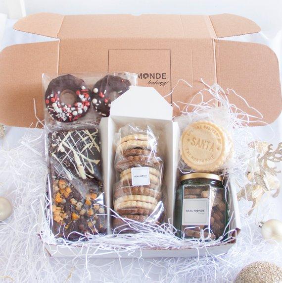vegan baked goods treat selection box