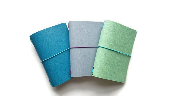 vegan fauxdori b6 sized travelers notebooks