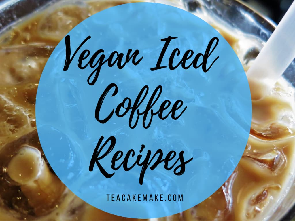 vegan iced coffee recipes