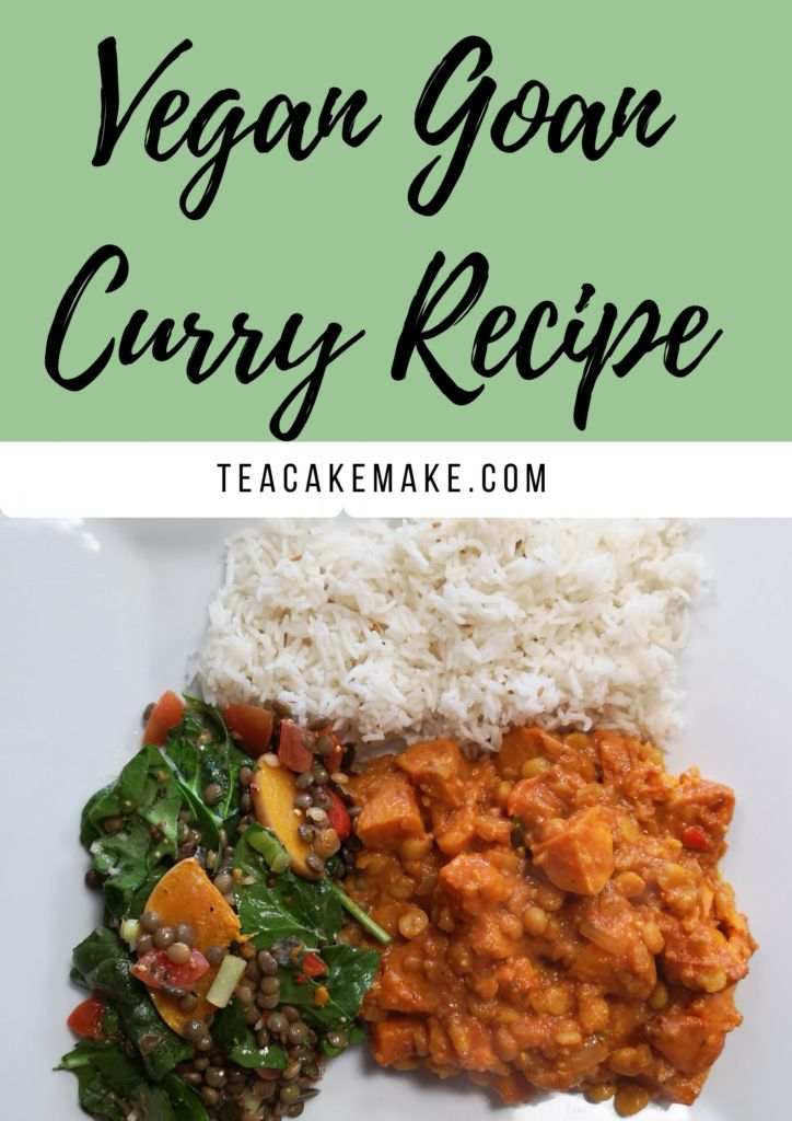 Vegan Goan Curry Recipe